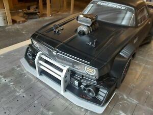 Arrma Felony Crash Bumper/Ram Bar/Front Bumper Splitter Aluminum Made in USA