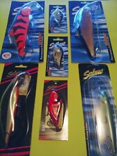 Salmo Fishing Lures Lot of 7