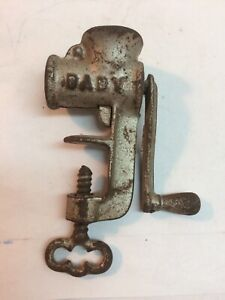Vintage Baby Cast Iron Mini Meat Grinder