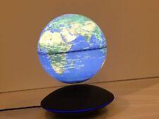 6 inch Magnetic Floating Levitation World Map Globe  LED Induction light