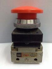 Lot Of 10 Pieces Smc Vm13 32 Way 18 Red Palm Button Pneumatic Control Valve