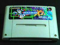ROCKMAN X2 Nintendo SUPER FAMICOM SFC SNES From Japan USED