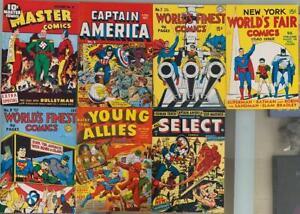 Flashback #18 1970's-Reprints Master Comics # 21 from 1941-VF/NM -1st CAPT. NAZI