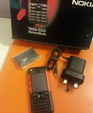 Nokia Xpress Music 5310 - red (Unlocked) Delivered Next Day
