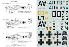 MICROSCALE DECALS 1/32 Junkers Ju 87B Stuka III./StG 2 StG 3 StG 77 (Luftwaffe)