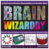 Brain Wizardry: With More Than 50 Mind Bogglers, Optical Inventions, Magic Trick