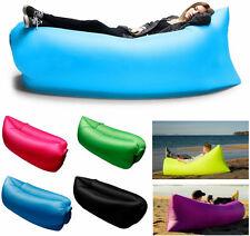 Lettino gonfiabile portatile letto amaca vento sdraio morbido soffice campeggio