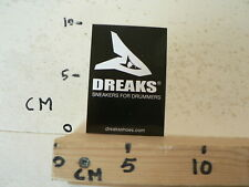 STICKER,DECAL DREAKS SNEAKERS FOR DRUMMERS PERCUSSION DRUM B