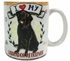 I Love my Black Labrador Dog Mug Dye Sub Ceramic Mug 8OZ