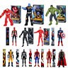 "Avengers Infinity Black Panther Titan Hero Series Thanos Hulk 12"" Action Figure"