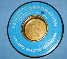 Rare Vintage 1958 XEROX Corp. HALOID Metal Film Top ASHTRAY