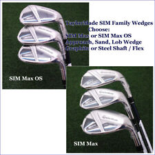 TaylorMade's 2020 SIM Max & Max OS Matching Approach/Sand/Lob Wedge Choose Model