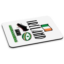 Rugby Irlande tapis de souris PC ordinateur - Drôle Ligue Union Trèfle Drapeau