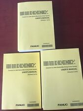 Fanuc Users Manual Set Of 3 Books For 30i, 31i, 32i