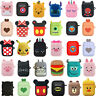Cute Cartoon Earphone Protective Silicone Cover For Apple Airpods Charging Cases