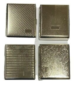 King Size Cigarette Case Metal  Holds 16 Cigarettes DOUBLE SIDED