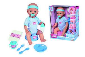 Simba New Born Baby Doll - Baby Puppe - Junge Babypuppe blau