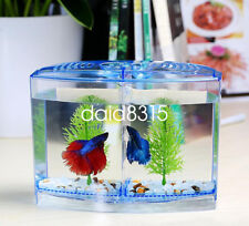 Fighting BETTA FISH TANK KIT AQUARIUM FISH TANK TWIN BOW FRONT TANK hot sale