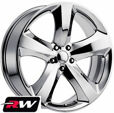 Dodge Challenger Replica Wheels 20 inch Chrome 20x8 Rims 5x115 fit Charger 06-17