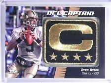 2012 Topps NFL Captain Patch Drew Brees #NCPDB *63750