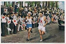 1936 Berlin Olympics 1932 Los Angeles Marathon Collector Photo Card