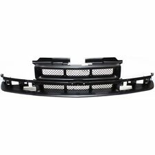 Grille For 98-2004 Chevrolet S10 98-2005 Blazer Paint to Match Plastic