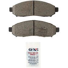 New ADVICS Disc Brake Pad Set Front AD1548 for Nissan Leaf NV200