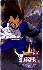 Dragonball Z Power Pack Series 1 2002 Sealed with Saiyan Saga Booster new 2002