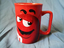 M&Ms Red Mug Dishwasher and Microwave Safe 36081011