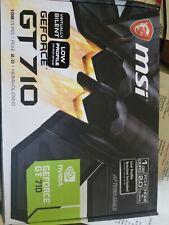 MSI GT7101GD3HLP GeForce GT 710 1GB VRAM Graphics Card