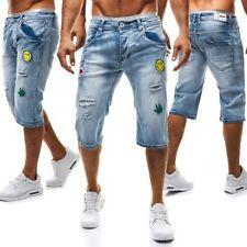 Pantalones cortos de hombre azul