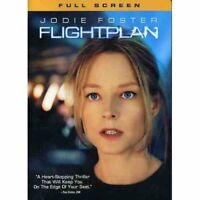 Flightplan Full Screen Edition On DVD With Jodie Foster Very Good E11