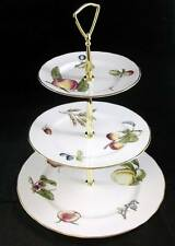 Royal Worcester BURBANK 3 Tiered Serving Tray GREAT CONDITION