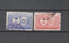 S2063 - ARABIA SAUDITA 1950 - SERIE COMPLETA VISITA REALE N°126/127 - VEDI FOTO