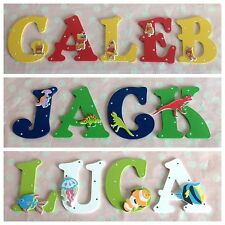 Children Name Door Wooden Letter Bedroom Nursery Wall Boys Girls Any Theme Sign