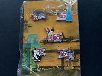 Disney Catalog Pinocchio Figaro 65th Anniversary Commemorative 5 Pin Set 43458