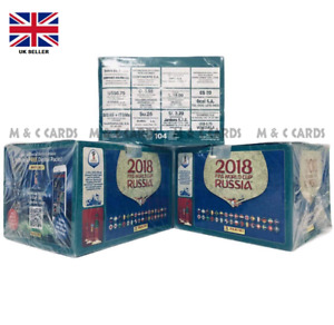 Panini Sticker 2018 World Cup Sealed BOX Brazilian Edition 104 packs / packets