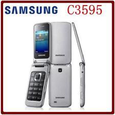 Téléphone portable Samsung c3595 debloqué clapet Grand Boutons 3g WCDMA Noir