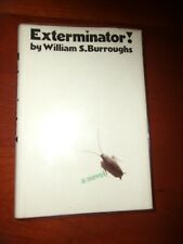 William Burroughs, Exterminator!, SIGNED 1st Edition, Fine in Dustjacket