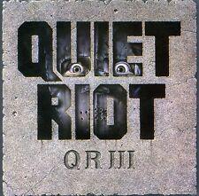 Quiet Riot - QR III [New CD]