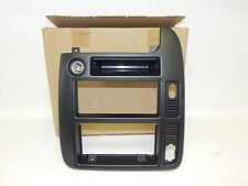 New OEM 1999-2000 Ford Windstar Front Dash Radio Console Trim Bezel Black