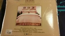 Home Decorators Collection Hotel Quilt Set KING size Quilt  2 shams CRAFT Brown