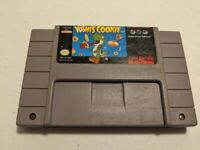 Yoshi's Cookie Super Nintendo SNES Game | Tested & Working - Clean Contacts