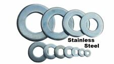 """25 qty 1/2"""" Stainless Steel Flat Washers (18-8 Stainless)"""
