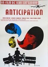 OLDEST PROFESSION Japanese B2 movie poster R2000 ANNA KARINA JEAN-LUC GODARD