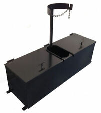 """Asphalt Sealcoating Brush Box, Squeegee Tank, 40"""" - Holds 36"""" Squeegee Brushes"""