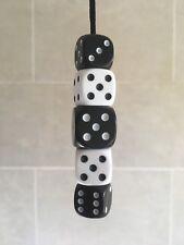 Black & White Dice Light, Fan Or Blind Pull Cord - Novelty Present