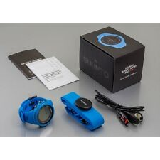 Suunto Ambit3 Sport Blue HR GPS Fitness Watch with Heart Rate Monitor