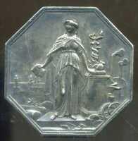 superbe jeton societé générale de credit industrielle et commercial 7 mai 1859