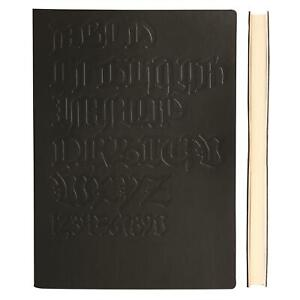 Daycraft A6 Lined Gutenberg Notebook With Fine Italian PU Leather Cover